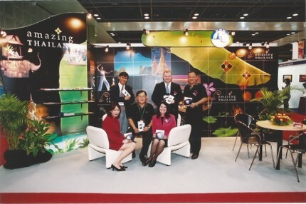 Kelvin Seah with his Industry friends