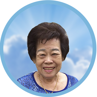 online obituary - display photo of late Mdm. Teo Poh Wher