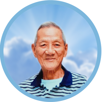 online obituary - display photo of late Mr. Yeo Kim Seng