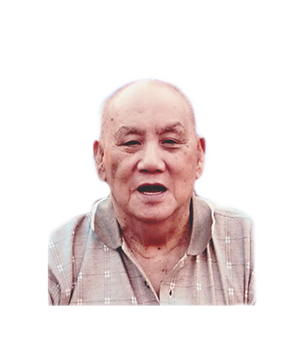 Late Mr. Ang Ting Hong masthead photo for online obituary on the beautiful memories