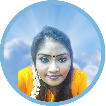 Online Obituary & Memorial Page Display Image of the Late Kaanjana d/o Kalai Selvan