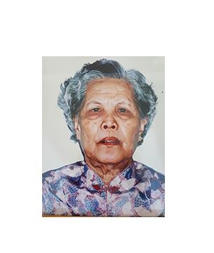 Late Mdm. Chum Ai Haw masthead photo for online obituary on the beautiful memories