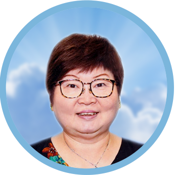 online obituary - display photo of late Mdm. Wong Lye Yuet