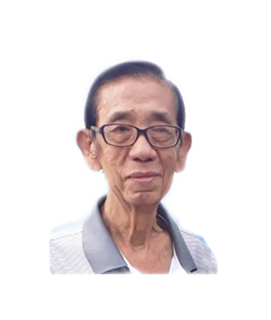 Late Mdm. Mr. Chua Tiong Bin masthead photo for online obituary on the beautiful memories