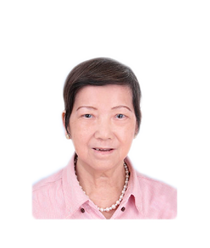 Late Mdm. Loh Lye Chun masthead photo for online obituary on the beautiful memories