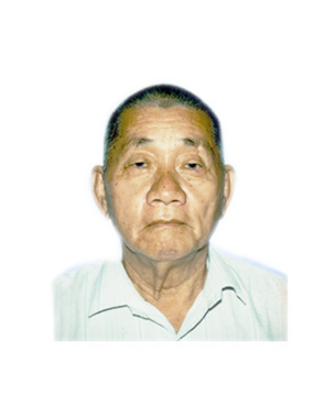 Late Mdm. Mr. Khoo Kim Leong masthead photo for online obituary on the beautiful memories
