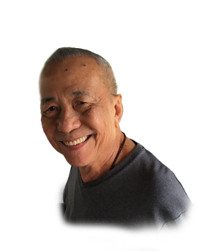 Late Mr. Lam Mee Voon masthead photo for online obituary on the beautiful memories