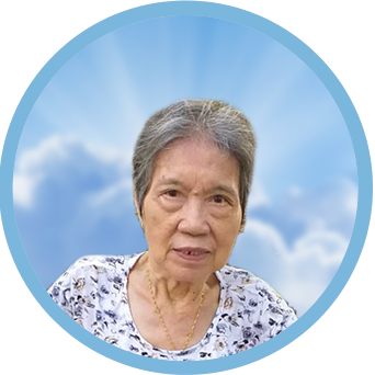 online obituary - display photo of late Mdm. Hong Cheong Yoek