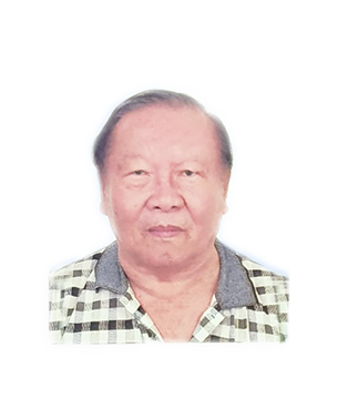 Late Mr. Pang Mook Cheong masthead photo for online obituary on the beautiful memories