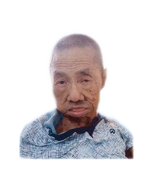 Late Mr. Teng Huat Huay masthead photo for online obituary on the beautiful memories
