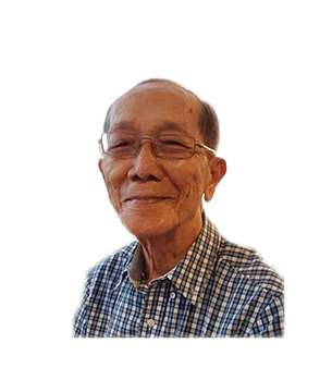Late Mr. Ho Wah Tong masthead photo for online obituary on the beautiful memories