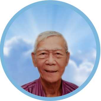 online obituary - display photo of late Mr. Chew Yam Meng