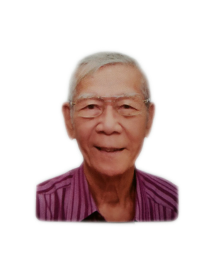 Late Mr. Chew Yam Meng masthead photo for online obituary on the beautiful memories