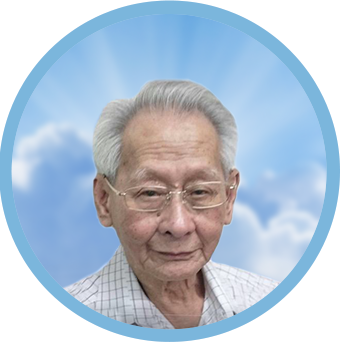 online obituary - display photo of late Mr. Chia Cheng Peng 谢金球(青萍)
