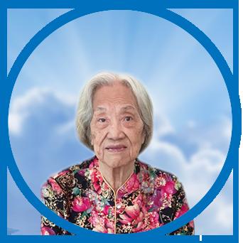 online obituary - display photo of late Mdm. Teo Kim Mui