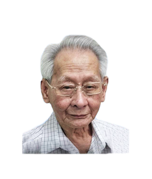 Late Mr. Chia Cheng Peng 谢金球(青萍) masthead photo for online obituary on the beautiful memories