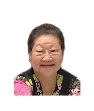 Late Mdm. Lim Kah Eng masthead photo for online obituary on the beautiful memories