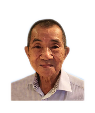 Late Mr. Chong Loon Kam masthead photo for online obituary on the beautiful memories