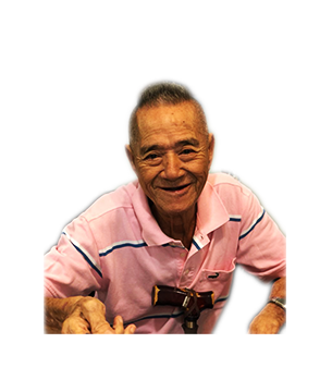 Late Mr. Lim Chian Chia masthead photo for online obituary on the beautiful memories