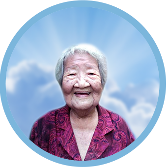 online obituary - display photo of late Mdm. Teh Wei Tin