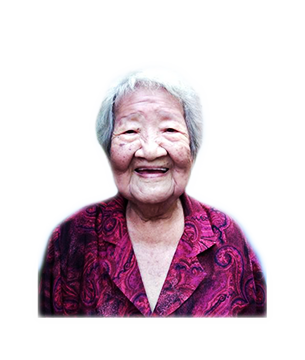 Late Mdm. Teh Wei Tin masthead photo for online obituary on the beautiful memories
