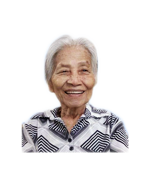 Late Mdm. Ang Koon masthead photo for online obituary on the beautiful memories