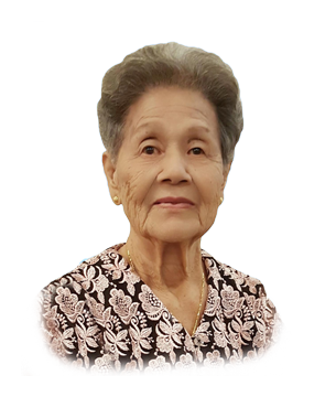 Late Mdm. Heng Ong Ah masthead photo for online obituary on the beautiful memories