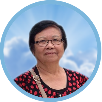 online obituary - display photo of late Mdm. Wong Yong Thai