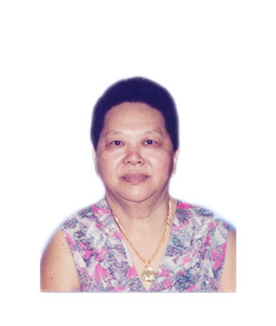 Late Mdm. Chiong Mui Oh masthead photo for online obituary on the beautiful memories