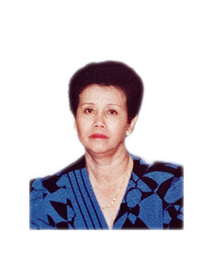 Late Mdm. Lee Meng Kiow masthead photo for online obituary on the beautiful memories