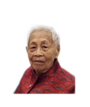Late Mdm. Tan Jee Keow masthead photo for online obituary on the beautiful memories