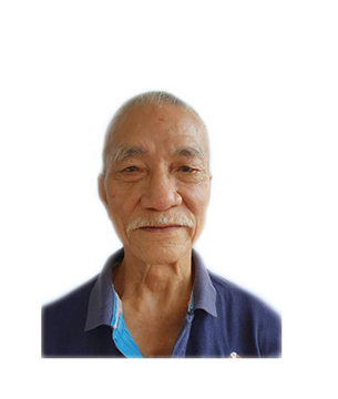 Late Mr. Tham Weng Long masthead photo for online obituary on the beautiful memories