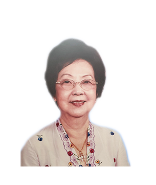 Late Mdm. Soo Seok Har masthead photo for online obituary on the beautiful memories