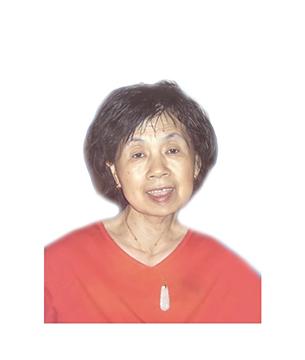Late Mdm. Ler Bee Hua masthead photo for online obituary on the beautiful memories