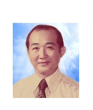 Late Mr. Lye Kwok Tiow @ Lye Kwok Teow masthead photo for online obituary on the beautiful memories