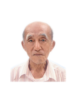 Late Mr. Ow Chong Ming @ How Ah Kit masthead photo for online obituary on the beautiful memories