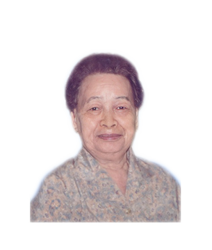 Late Mdm. Heng Ah Eng masthead photo for online obituary on the beautiful memories