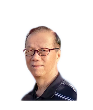 Late Mr. Law Ah Kaw masthead photo for online obituary on the beautiful memories