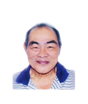 Late Mr. Lim Chin Chu masthead photo for online obituary on the beautiful memories