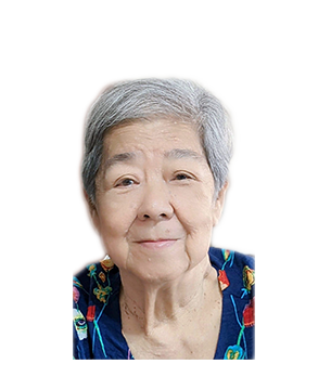 Late Mdm. Ng Bee Seok masthead photo for online obituary on the beautiful memories