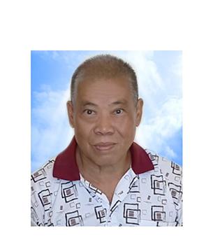 Late Mr. Teh Yau Kwang masthead photo for online obituary on the beautiful memories