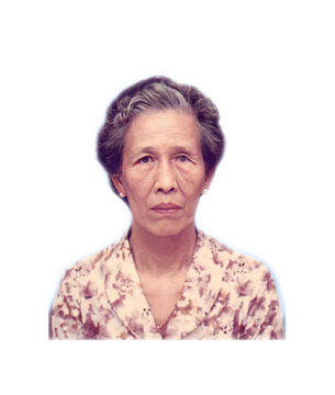 Late Mdm. Tham Lin Hoe masthead photo for online obituary on the beautiful memories