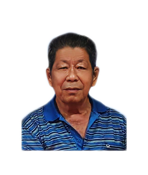 Late Mr. Tham Peng Kuan masthead photo for online obituary on the beautiful memories