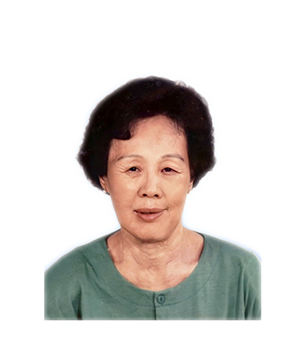 Late Mdm. Ang Soo Khim masthead photo for online obituary on the beautiful memories