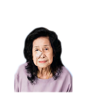 Late Mdm. Mak Yuet Sin masthead photo for online obituary on the beautiful memories