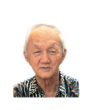 Late Mr. Chong Ngeng Jong masthead photo for online obituary on the beautiful memories
