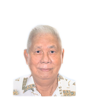 Late Mr. Lee Weng Chew @ Lee Kong masthead photo for online obituary on the beautiful memories