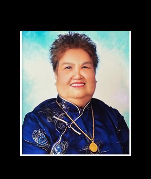 Late Mdm. Tan Ah Cheong @ Tang Ah Lek masthead photo for online obituary on the beautiful memories