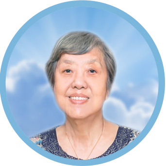 online obituary - display photo of late Mdm. Wong Siang Muai 黄暹妹